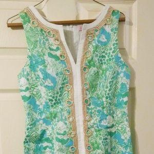 Lilly Pulitzer shift dress size 4